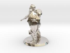 Perteberator in Rhodium Plated Brass
