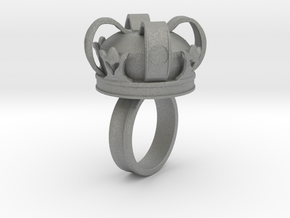 Crown Ring in Gray Professional Plastic: 5 / 49