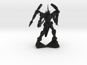 Mobile Suit 1 in Black Natural Versatile Plastic