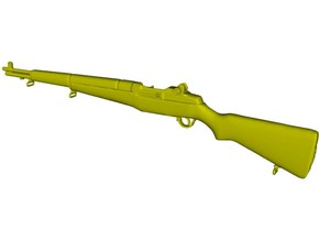 1/15 scale Springfield M-1 Garand rifle x 1 in Smooth Fine Detail Plastic