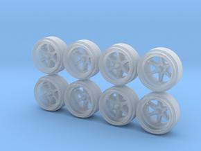 Sauber C9 Speedline Hot Wheels Rims 9 in Smoothest Fine Detail Plastic