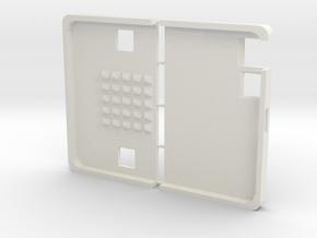 micro:bit Case transluzent in White Natural Versatile Plastic