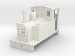 5.5 mm scale side tank loco 2  in White Natural Versatile Plastic