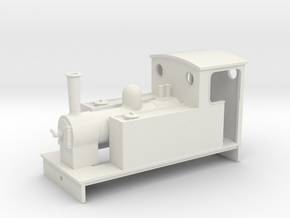 5.5 mm scale side tank loco 61 in White Natural Versatile Plastic