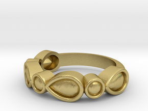 Ring in Natural Brass