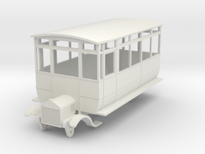 0-64-ford-wsr-railcar-1a in White Natural Versatile Plastic