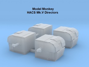 1/400 HACS Mk.V Directors in Smoothest Fine Detail Plastic