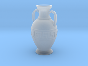 Ancient Greek Amphora - 6cm height in Smooth Fine Detail Plastic
