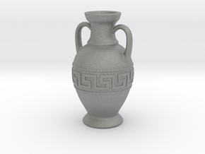 Ancient Greek Amphora - 6cm height in Gray PA12