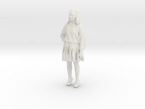 Printle F Daisy Ridley - 1/24 - wob in White Natural Versatile Plastic