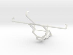 Controller mount for Steam & Lenovo Golden Warrior in White Natural Versatile Plastic