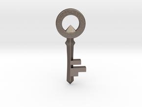 The Legend of Zelda: Skyward Sword Small Key in Polished Bronzed-Silver Steel