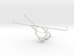 Controller mount for Steam & HP Stream 8 - Front in White Natural Versatile Plastic