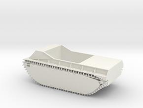 1/30 LVT-1 Amtrac in White Natural Versatile Plastic