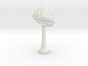 Single Stand 20mm Asteroid 3 in White Natural Versatile Plastic