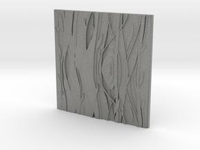 Floral Decorative tile 7.1x7.1x.5 cm in Gray Professional Plastic
