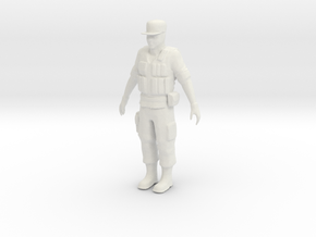 Printle F Raul Castro - 1/18 - wob in White Natural Versatile Plastic