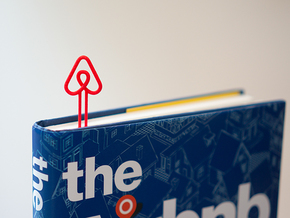 Airbnb Bookmark in Red Processed Versatile Plastic