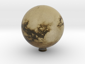 Cloudless Titan 1:100 million in Natural Full Color Sandstone
