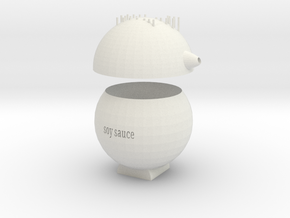 soy sauceSpice jar in White Natural Versatile Plastic: Small