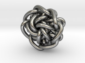 B&G Knot 08 in Natural Silver