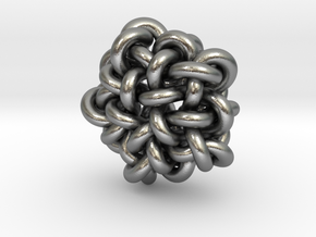 B&G Knot 10 in Natural Silver