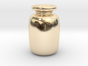 bottle in 14K Yellow Gold