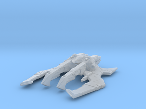 Long Spider Alien ship in Smooth Fine Detail Plastic