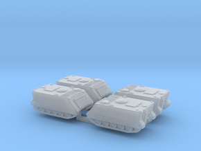 1:160 n scale M113 APC set of 4 in Smooth Fine Detail Plastic