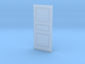 Door 3 Panel 1 1/32x2 9/32-01 1/35 in Smooth Fine Detail Plastic