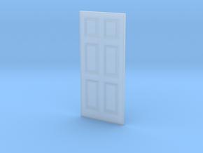 Door 6 Panel 1 1/32x2 9/32-01 1/35 in Smooth Fine Detail Plastic