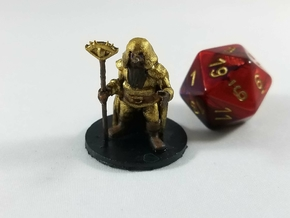 Dwarven Illusionist Wizard in Smooth Fine Detail Plastic