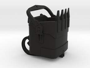 Marion Steam Shovel Bucket in Black Natural Versatile Plastic