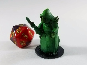 Lizardfolk Warlock of the Forest in Smooth Fine Detail Plastic