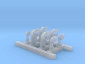 1/700 US Navy Liberty Class Vents in Smoothest Fine Detail Plastic