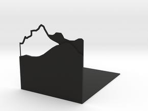mountain in Black Premium Versatile Plastic