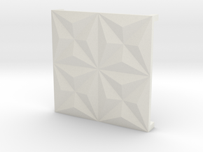 3d tile_1_porcelain in White Natural Versatile Plastic