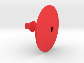 6 in Red Processed Versatile Plastic