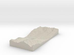 Model of Sion, Aéroport in Natural Sandstone