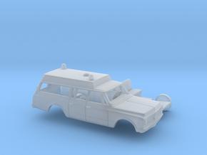 1/160 1971-72 Chevrolet Suburban Ambulance Kit in Smooth Fine Detail Plastic