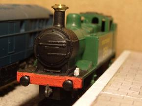 N Gauge BR Lamp 0.2.5 in Smooth Fine Detail Plastic