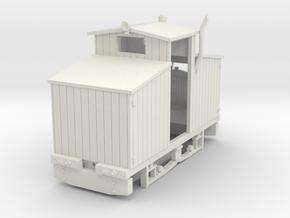 Hartelius loco in White Natural Versatile Plastic: 1:35