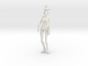 Printle V Femme 1066 - 1/24 - wob in White Natural Versatile Plastic