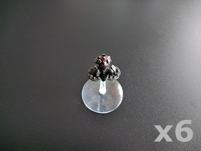 Pylon orbital platform (light weaponry) x6 in Smooth Fine Detail Plastic
