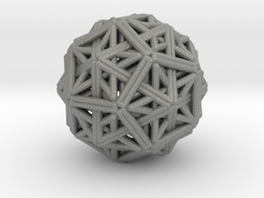 Hedron star Family Version 1 in Gray Professional Plastic