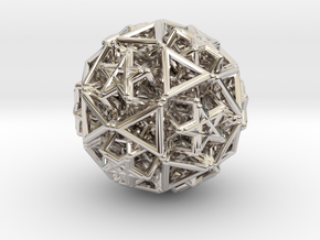 Hedron star Family Version 2 in Platinum
