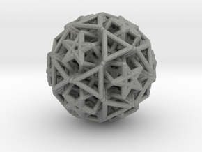 Hedron star Family Version 2 in Gray Professional Plastic