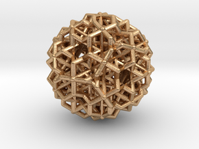 Hedron star Family Version 3 in Natural Bronze