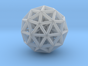 Geometric sphere with connected vertics in Smooth Fine Detail Plastic