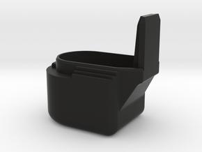 Kriss Vector Battery Extension Cap in Black Natural Versatile Plastic
